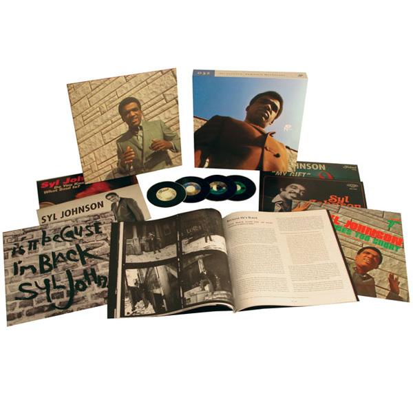 Copertina Disco Vinile 33 giri Complete Mythology [Cofanetto 6LP+4CD] di Syl Johnson