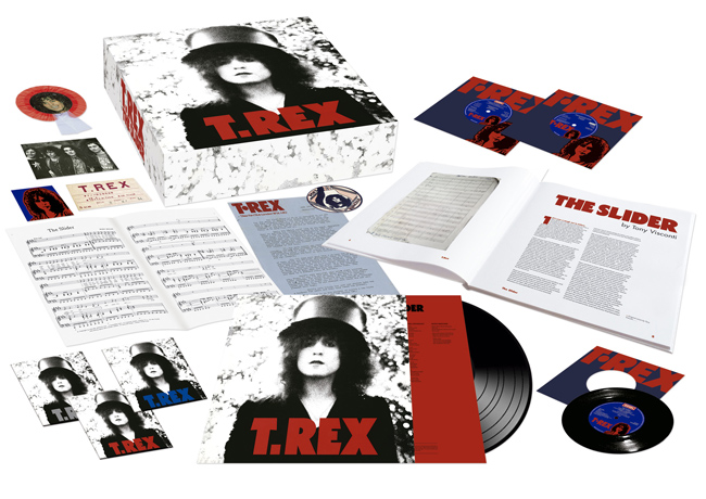 Copertina Disco Vinile 33 giri The Slider Box Set [Cofanetto 4LP 2CD DVD]  di T.Rex