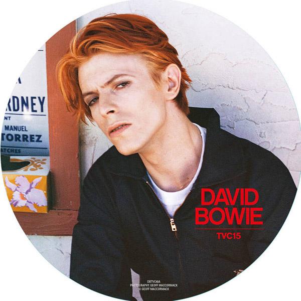 """Copertina Disco Vinile 33 giri TVC15 [Singolo Picture Disc 7""""] di David Bowie"""