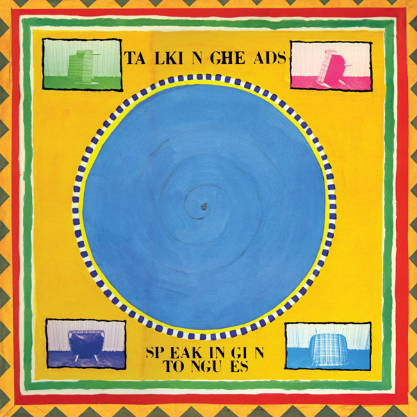 Copertina Disco Vinile 33 giri Speaking in Tongues di Talking Heads