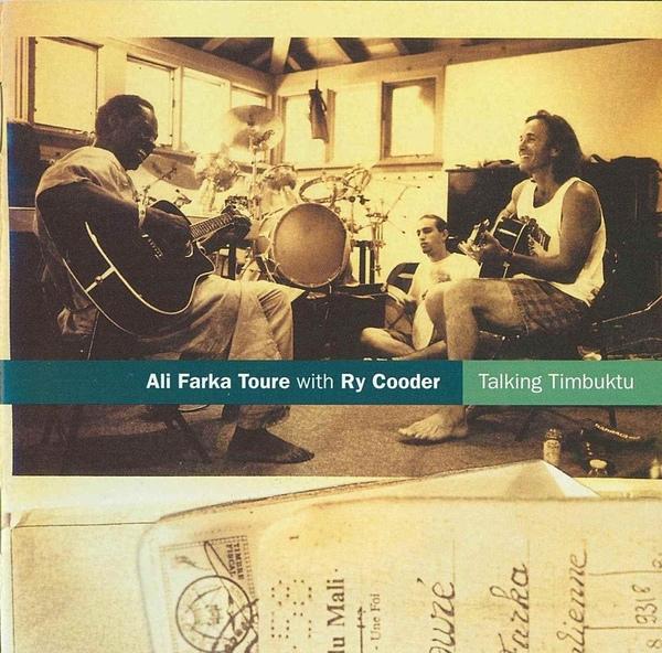 Copertina Disco Vinile 33 giri Talking Timbuktu [2 LP] di Ali Farka Touré