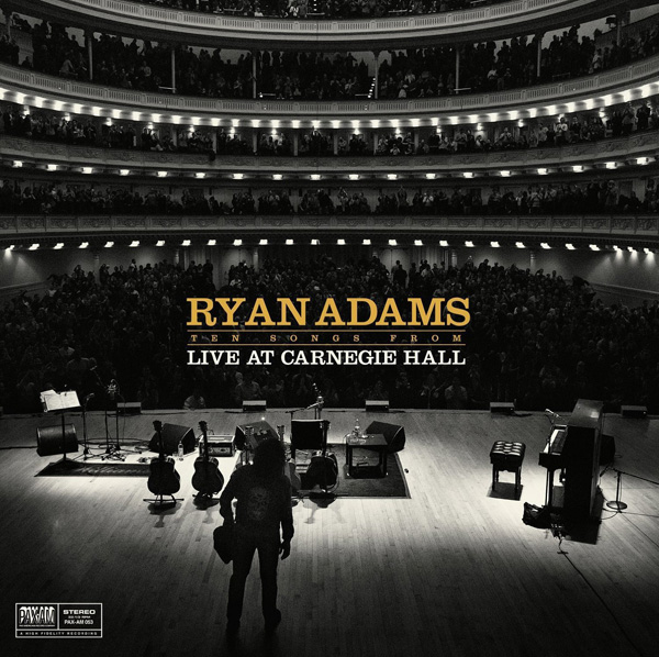 Copertina Disco Vinile 33 giri Ten Songs From - Live At Carnegie Hall di Ryan Adams