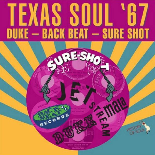 Copertina Vinile 33 giri Texas Soul '67 di Vari Artisti