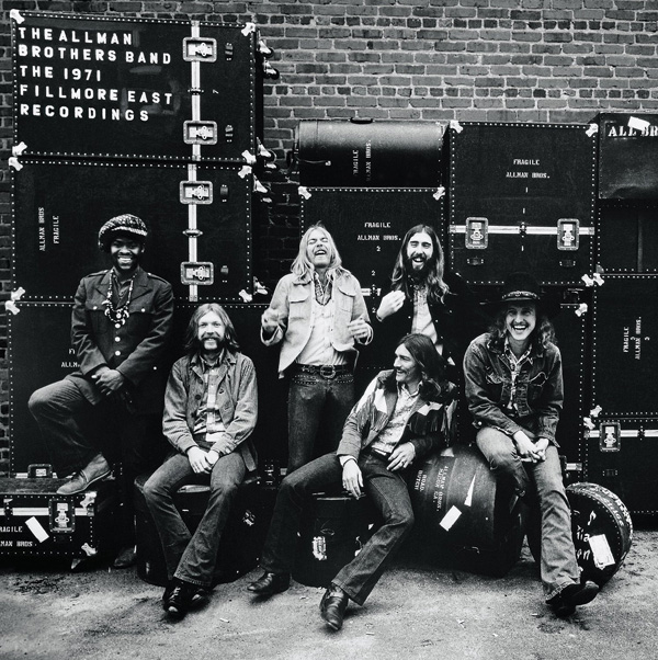Copertina Disco Vinile 33 giri The 1971 Fillmore East Recordings [Cofanetto 4xLP] di The Allman Brothers