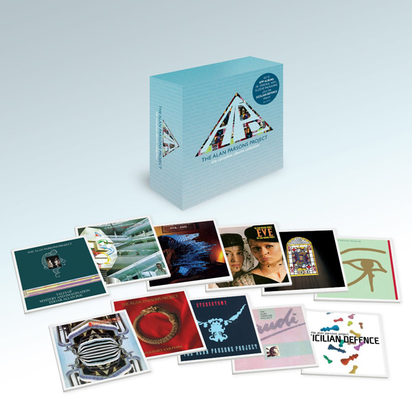 Copertina Disco Vinile 33 giri The Complete Albums Collection [Cofanetto 11xCD] di The Alan Parsons Project