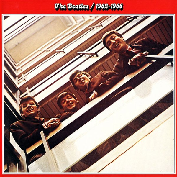 Copertina Disco Vinile 33 giri 1962-1966 [2 LP] di The Beatles