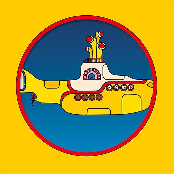 Copertina Vinile 33 giri Yellow Submarine di The Beatles