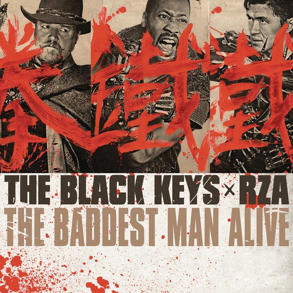 Copertina Disco Vinile 33 giri The Baddest Man Alive [Singolo 45 Giri]  di The Black Keys