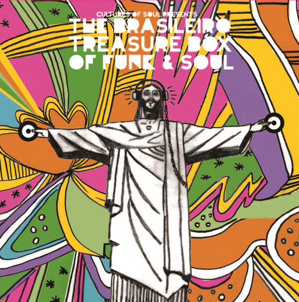 Copertina Disco Vinile 33 giri The Brasileiro Treasure Box Of Funk & Soul  di