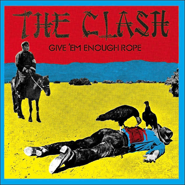 Copertina Vinile 33 giri Give 'Em Enough Rope di The Clash