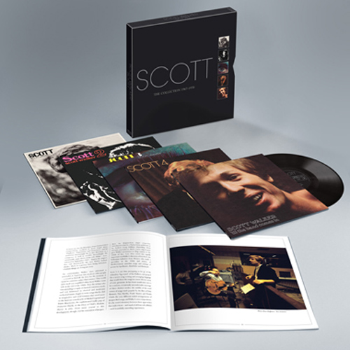 Copertina Disco Vinile 33 giri The Collection 1967-1970 [Cofanetto 5 LP] di Scott Walker