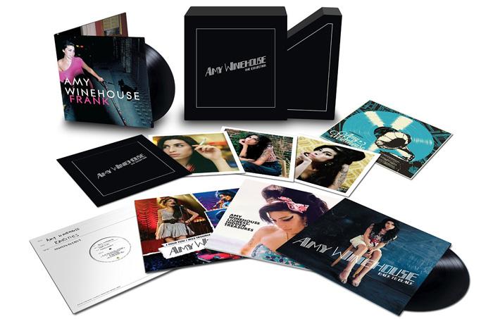 Copertina Disco Vinile 33 giri Amy Winehouse | The Collection [Cofanetto 8xLP] di Amy Winehouse