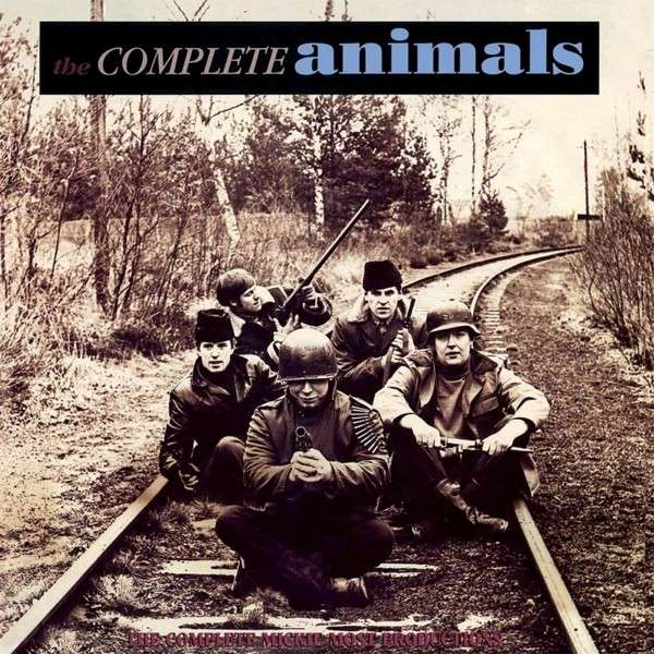 Copertina Disco Vinile 33 giri The Complete Animals [3 LP] di The Animals