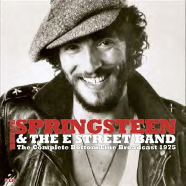 Copertina Disco Vinile 33 giri The Complete Bottom Line Broadcast 1975 [3 LP]  di Bruce Springsteen