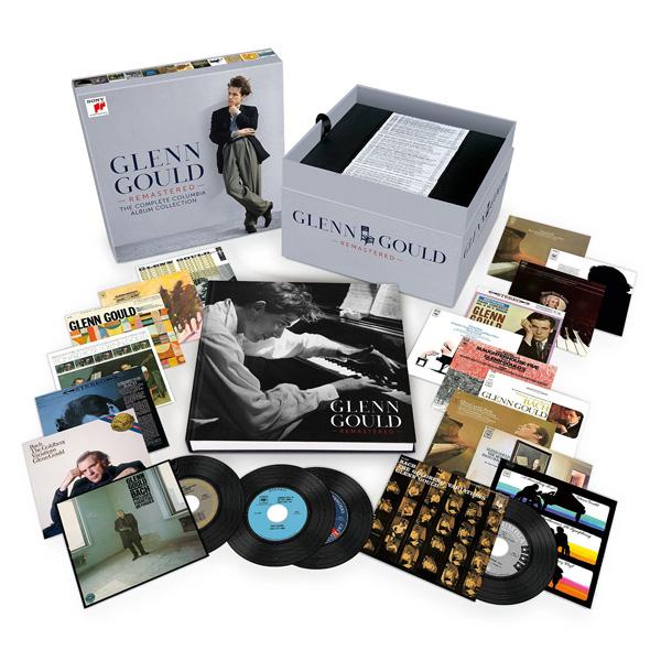 Copertina Disco Vinile 33 giri The Complete Columbia Album Collection  di Glenn Gould