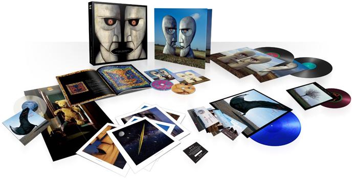 Copertina Disco Vinile 33 giri The Division Bell [Cofanetto Deluxe] di Pink Floyd