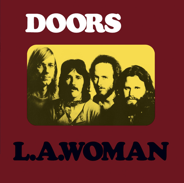 Copertina Disco Vinile 33 giri L.A. Woman di The Doors