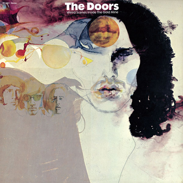Copertina Disco Vinile 33 giri Weird Scenes Inside The Goldmine  [2 LP] di The Doors