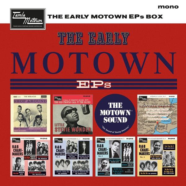Copertina Disco Vinile 33 giri The Early Motown EPs [Cofanetto 7 x 45 Giri] di