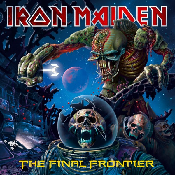Copertina Vinile 33 giri The Final Frontier [2 LP] di Iron Maiden