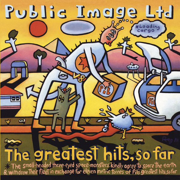 Copertina Disco Vinile 33 giri The Greatest Hits, So Far [2 LP] di Public Image Ltd