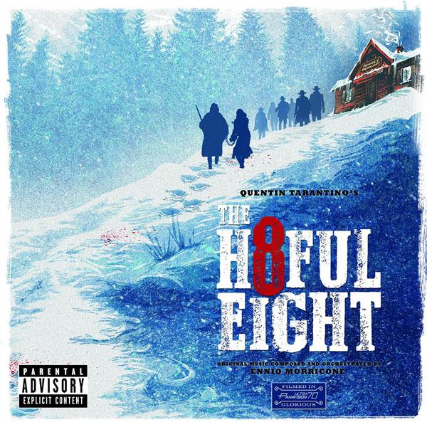 Copertina Disco Vinile 33 giri The Hateful Eight [Soundtrack 2xLP] di Ennio Morricone