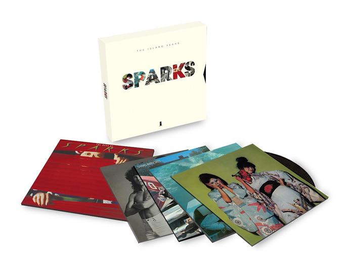 Copertina Disco Vinile 33 giri The Island Years [Cofanetto 5xLP] di Sparks