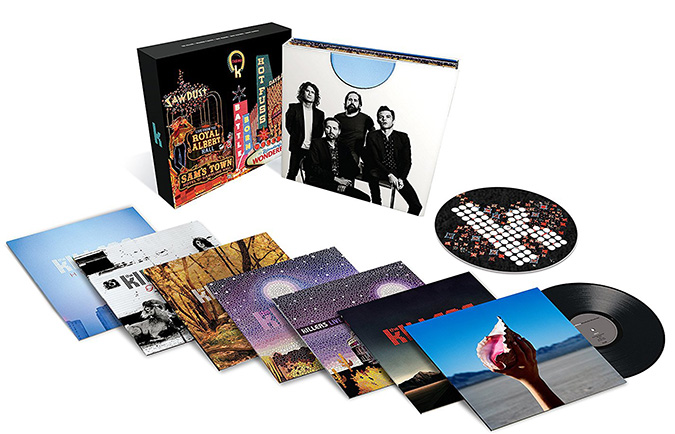 Copertina Vinile 33 giri Career Box [Cofanetto 10xLP] di The Killers
