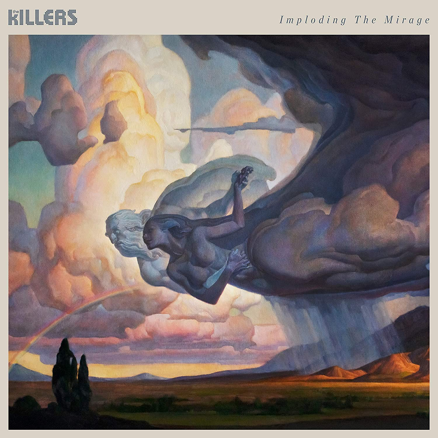 Copertina Vinile 33 giri Imploding the Mirage di The Killers
