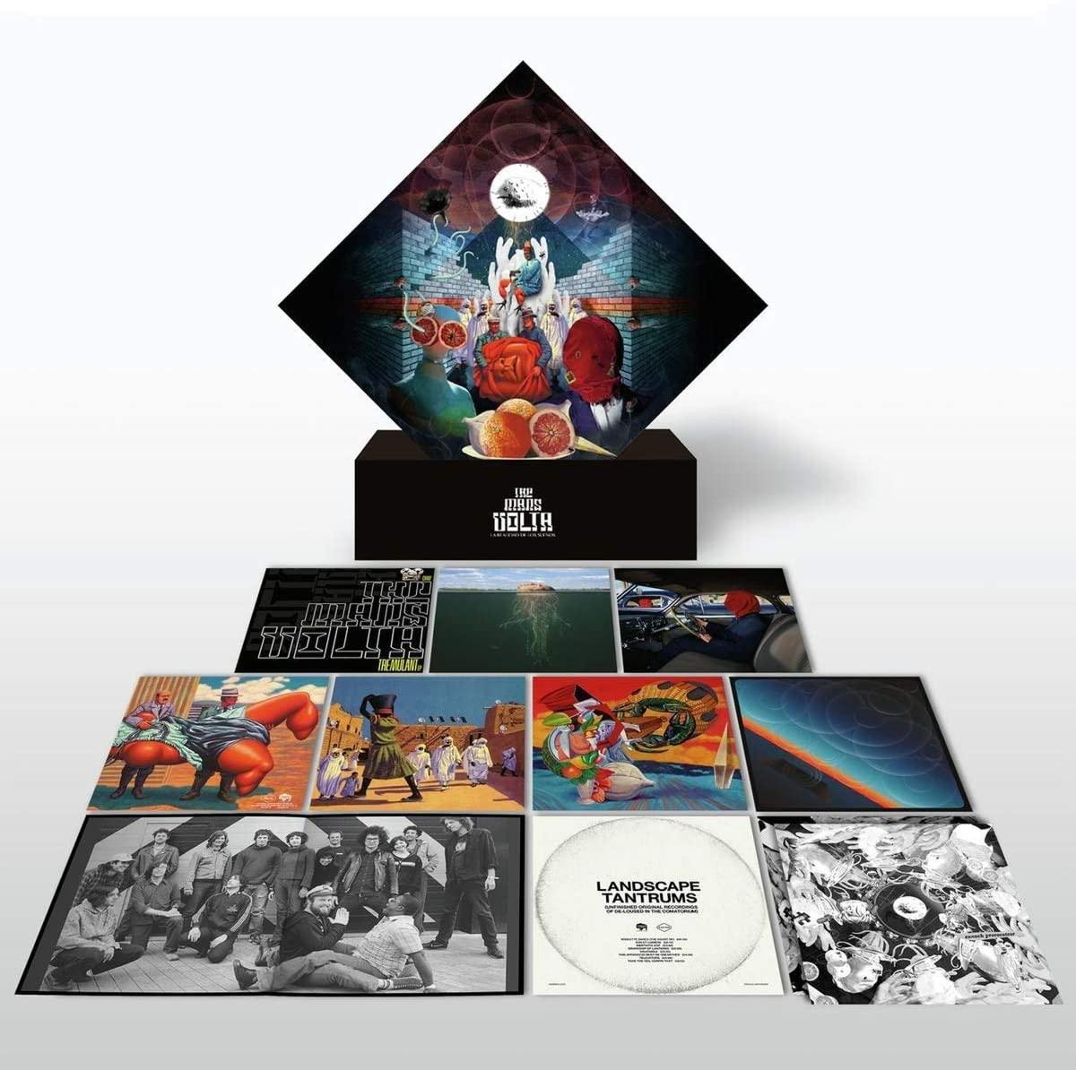 Copertina Vinile 33 giri La Realidad De Los Suenos [Cofanetto 18xLP] di The Mars Volta