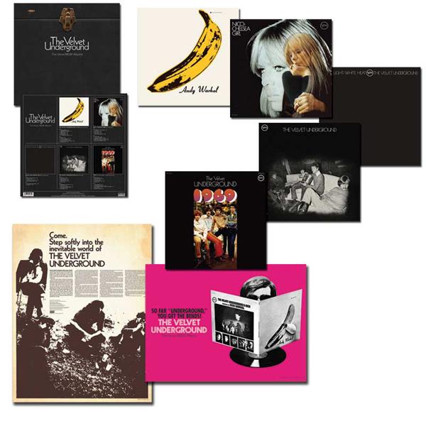 Copertina Disco Vinile 33 giri The Velvet Underground | The Verve/MGM Albums  di The Velvet Underground