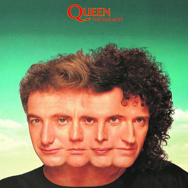 Copertina Disco Vinile 33 giri The Miracle di Queen