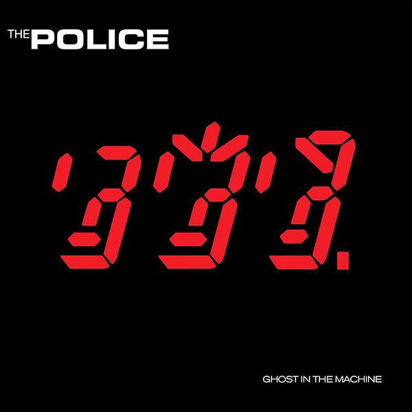 Copertina Vinile 33 giri Ghost in the Machine di The Police
