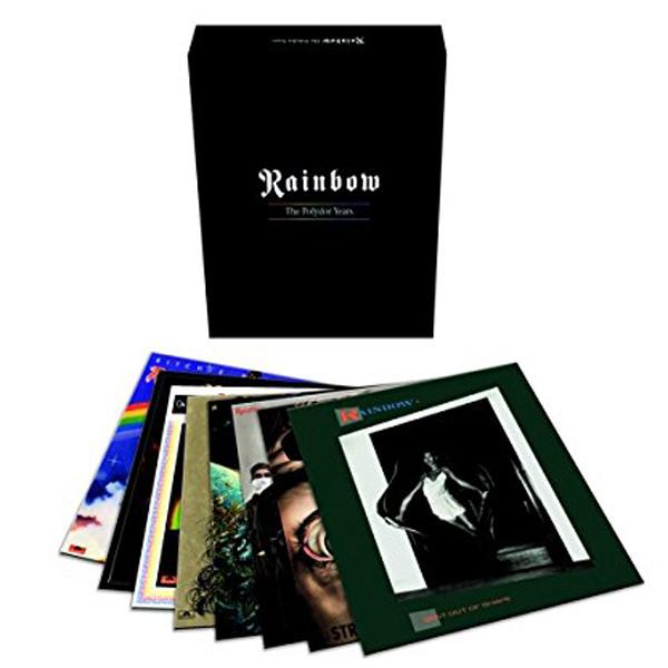 Copertina Disco Vinile 33 giri The Polydor Years [Cofanetto 9xLP] di Rainbow