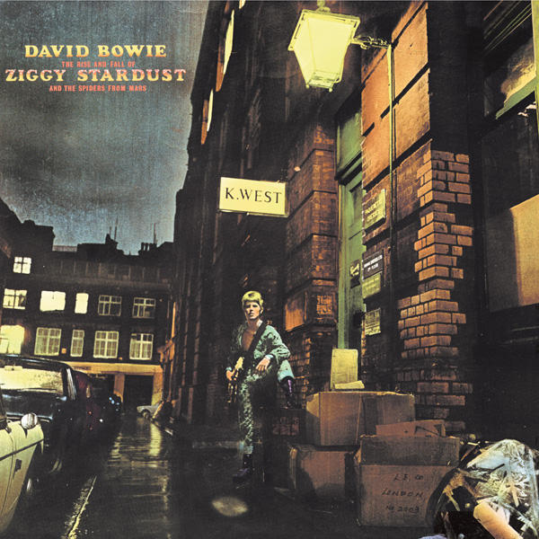 Copertina Vinile 33 giri The Rise and Fall of Ziggy di David Bowie