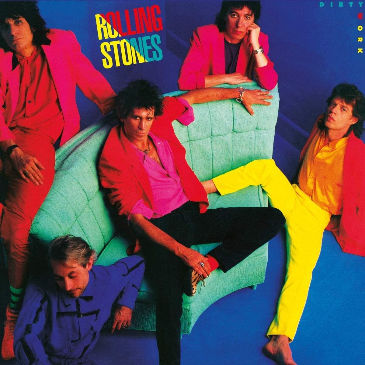 Copertina Vinile 33 giri Dirty Work di The Rolling Stones