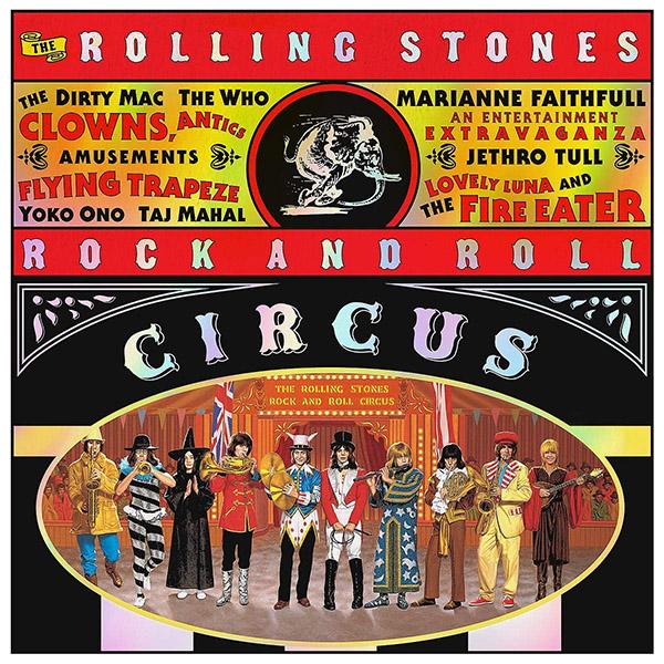 Copertina Vinile 33 giri Rock and Roll Circus [3 LP] di The Rolling Stones