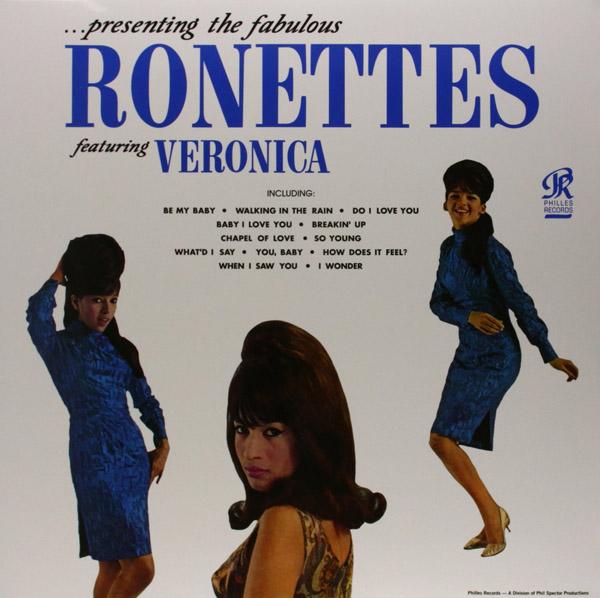Copertina Disco Vinile 33 giri Presenting The Fabulous Ronettes di The Ronettes
