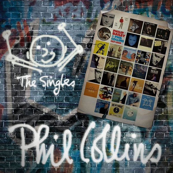 Copertina Disco Vinile 33 giri The Singles [Cofanetto 4xLP] di Phil Collins