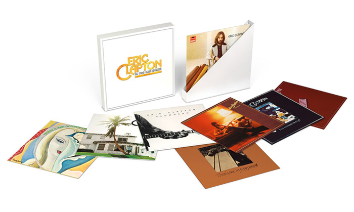 Copertina Disco Vinile 33 giri The Studio Album Collection 1970-1981 di Eric Clapton