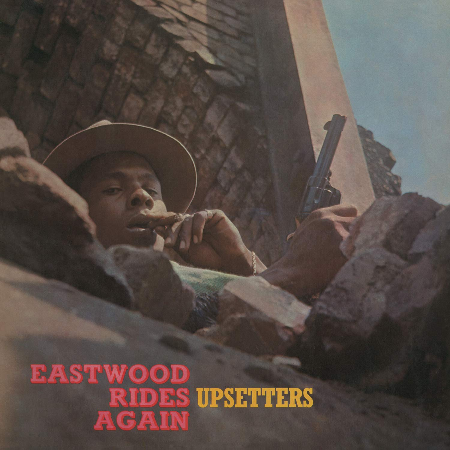 Copertina Vinile 33 giri Eastwood Rides Again di The Upsetters