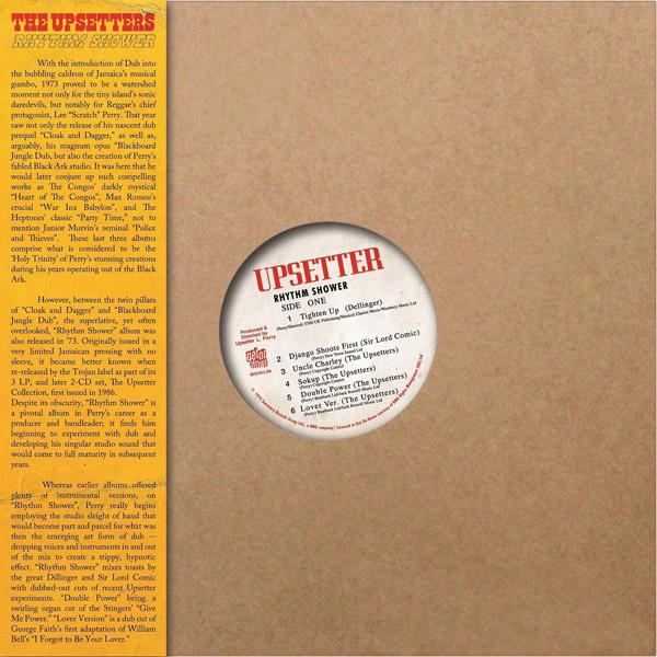 Copertina Vinile 33 giri Rhythm Shower di The Upsetters