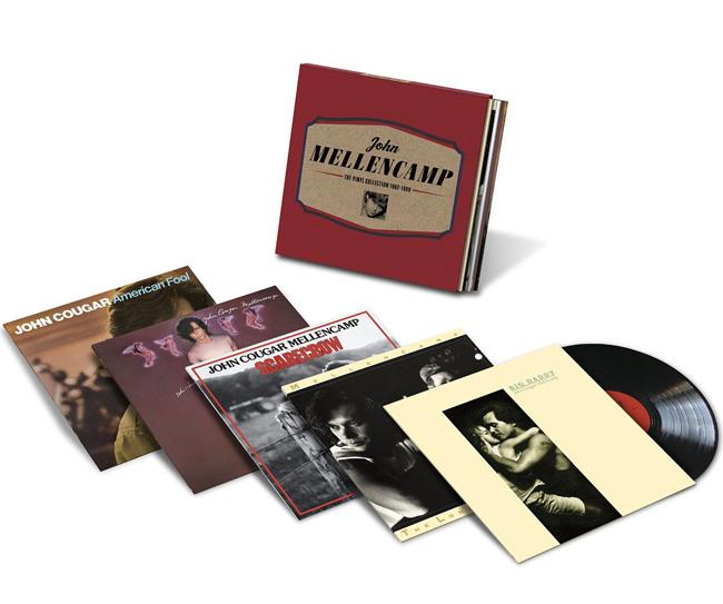 Copertina Disco Vinile 33 giri The Vinyl Collection 1982-1989 [Cofanetto 5xLP] di John Mellencamp
