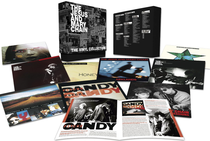 Copertina Disco Vinile 33 giri The Vinyl Collection [Cofanetto 12xLP] di The Jesus and Mary Chain
