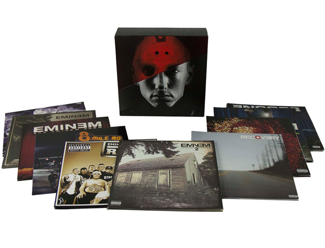 Copertina Disco Vinile 33 giri The Vinyl LPs [Cofanetto 10xLP] di Eminem
