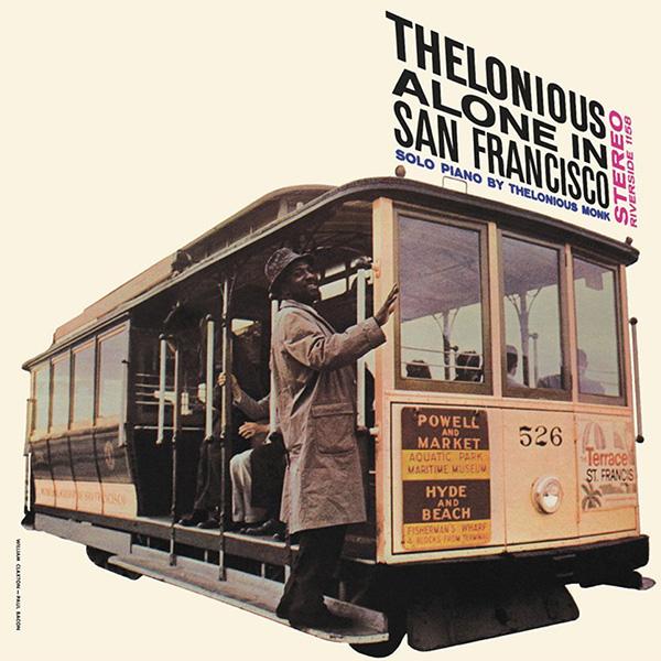 Copertina Vinile 33 giri Thelonious Alone In San Francisco di Thelonious Monk