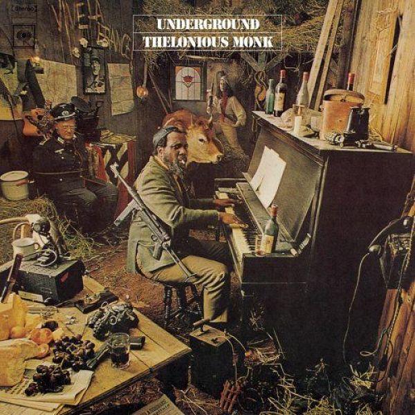 Copertina Disco Vinile 33 giri Underground di Thelonius Monk