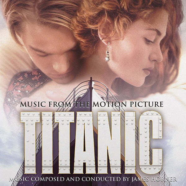 Copertina Disco Vinile 33 giri Titanic [Soundtrack 2xLP] di James Horner