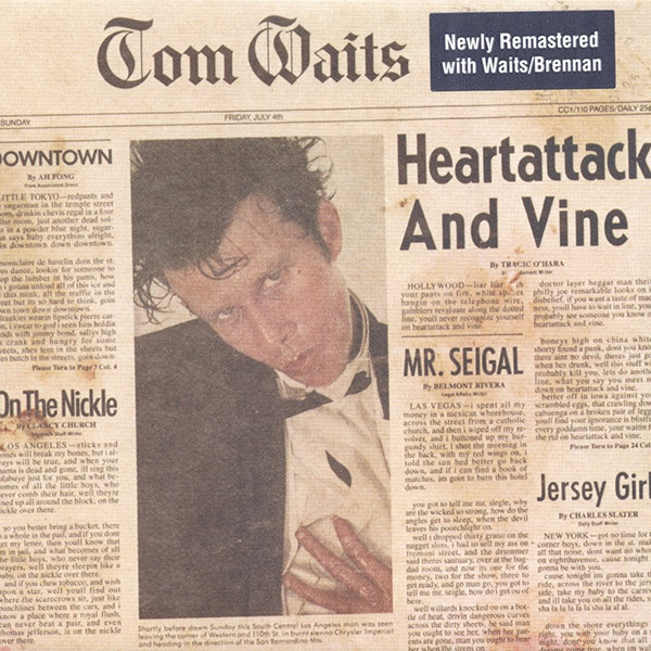 Copertina Vinile 33 giri Heartattack and Vine di Tom Waits