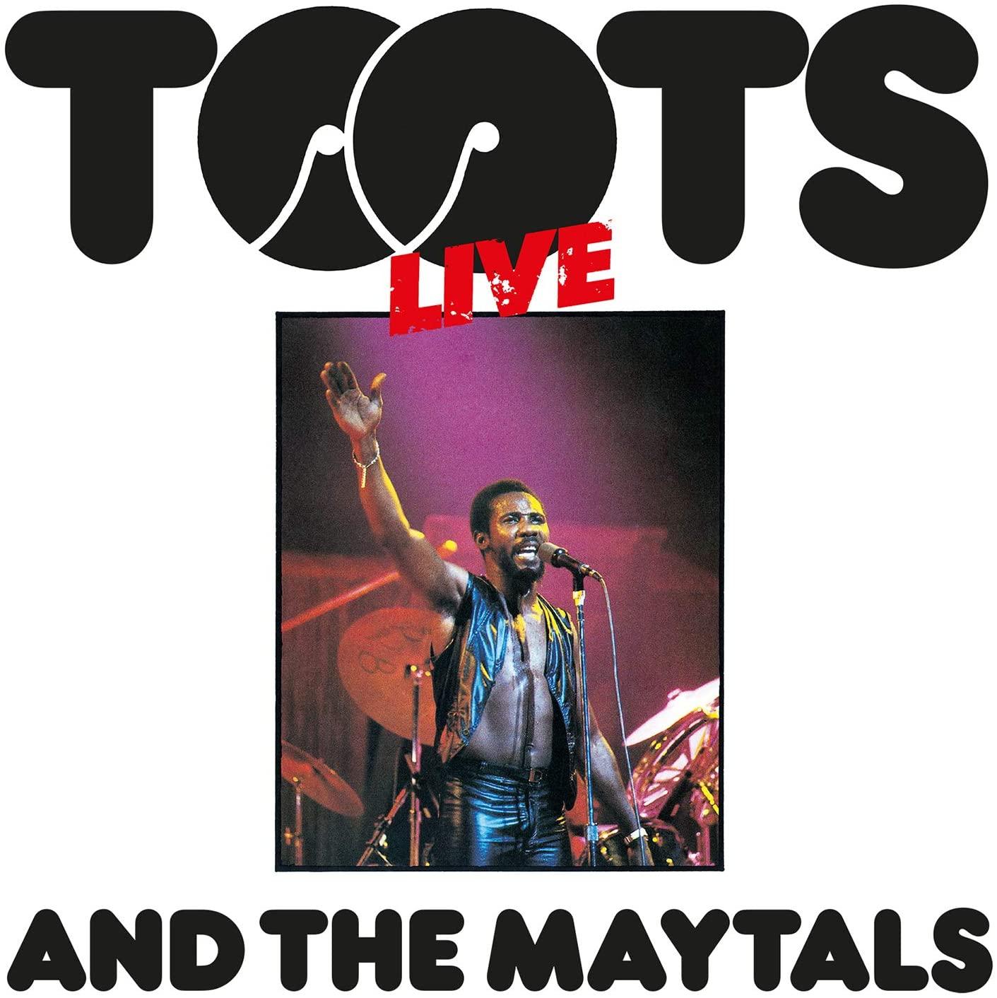 Copertina Vinile 33 giri Live di Toots & The Maytals